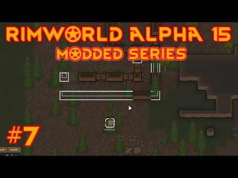 Rimworld alpha 15 mods -  EP #7 -  Tunnel of pain !!! -  Let's play