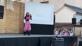 伊賀にぎわいフェスタでの元SKE48竹内舞さんのステージです。
