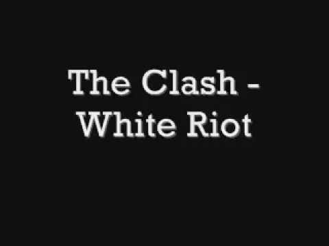 The Clash - White Riot [Lyrics]