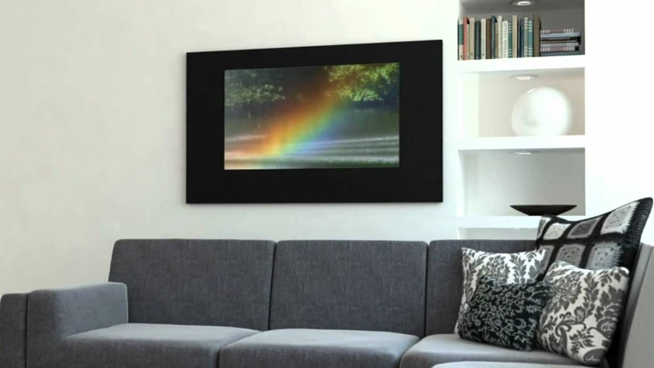 Tv Encastrable Mur Hymage Tv Miroir Encastrable Youtube