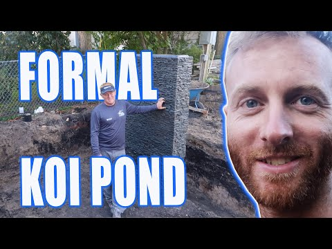 *FORMAL KOI POND* Build With Garden Bridge - Part 1