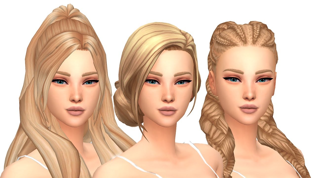 MODS CC HAIR PACK FOLDER FREE DOWNLOAD THE SIMS 4 MAXIS MATCH