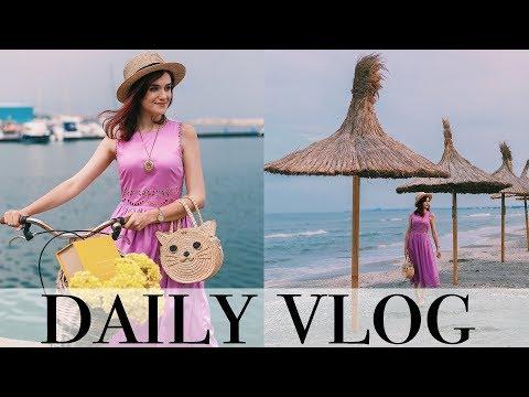 Daily vlog | O fuga pana la Constanta, cinema-n aer liber si-un frate gras