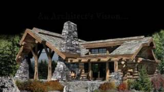 Award-winning Caribou Log Home Plan Inspires Homes Across America