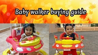 Baby walker buying guide in tamil/Comparison with demo/Safety measures/Pros & Cons of walker