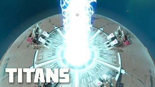 Planetary Annihilation: TITANS - Gameplay Huge System | Multiplayer Combat