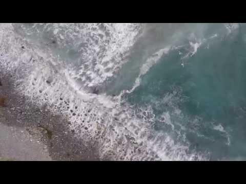 Surf off Big Sur CA
