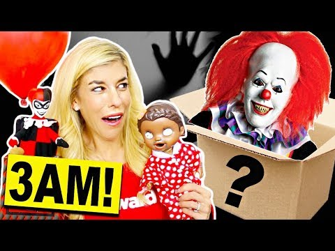 Dont Open A Mystery Valentines Day Box at 3AM! (Surprise Reaction)