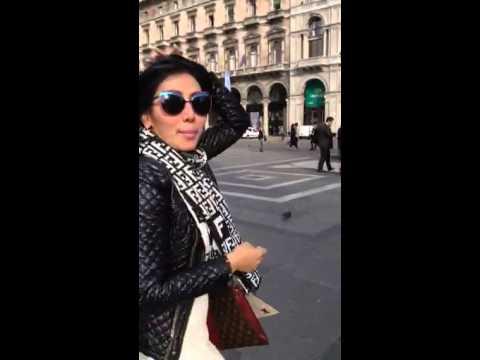 Ratna dilla @ Duomo milano italy