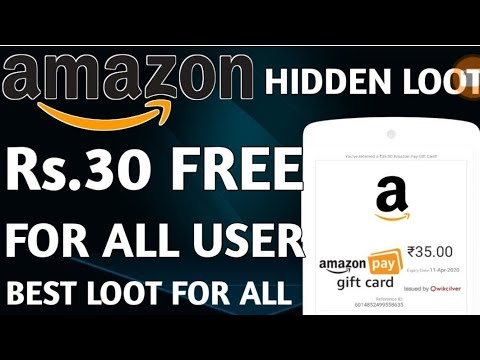 amazon-free-30-rupees-||-daily-rewarded-offer-app