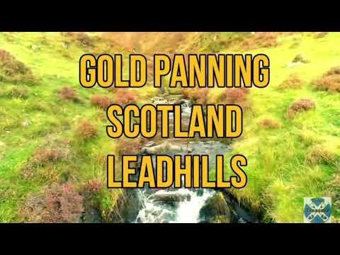 Gold Panning Scotland Leadhills Wanlockhead