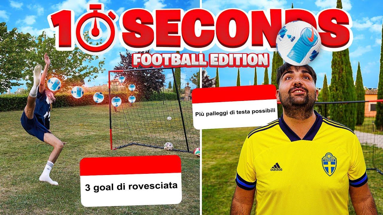 ⚽⏳ 10 SECONDS FOOTBALL CHALLENGE con gli ELITES!
