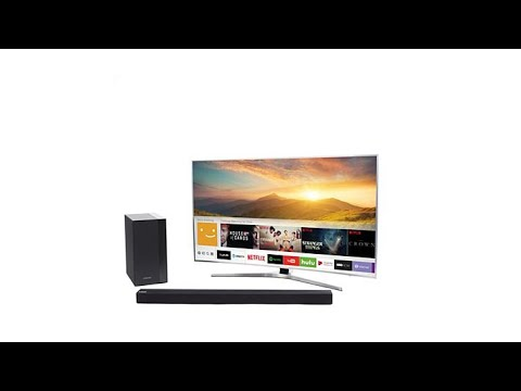 "Thumbnail: Samsung 49"" 4K Curved Smart TV w/HDR Pro, 2Yr Warranty"