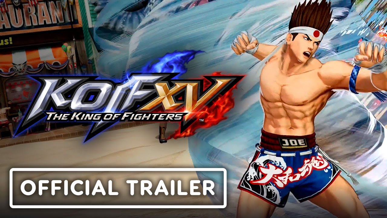 King of Fighters XV - Joe Higashi: Official Character Trailer
