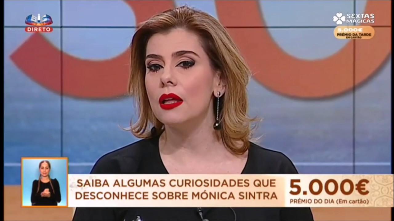 Monica Sintra No Juntos A Tarde Da Sic