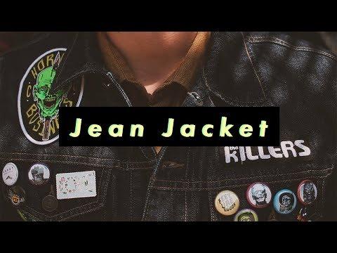DIY JEAN JACKET | PATCHES & PINS | Tyler RIetz