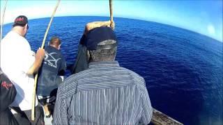 3/4 Fishing  wahoo aboard the enterprise !!