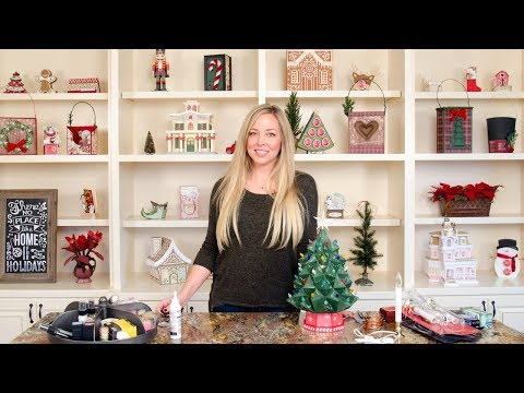 Heirloom Christmas Tree SVG Kit Assembly Tutorial