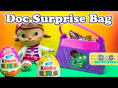 DOC MCSTUFFINS Disney  Surprise Doctor Bag a Surprise Candy Toys Egg Video