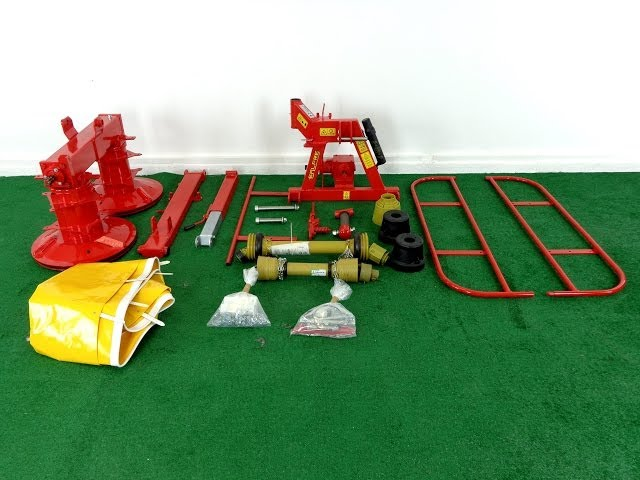Galfre Compact Drum Mower Assembly Tutorial