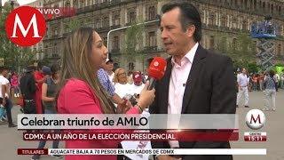 Cuitláhuac García acude al AMLOFest