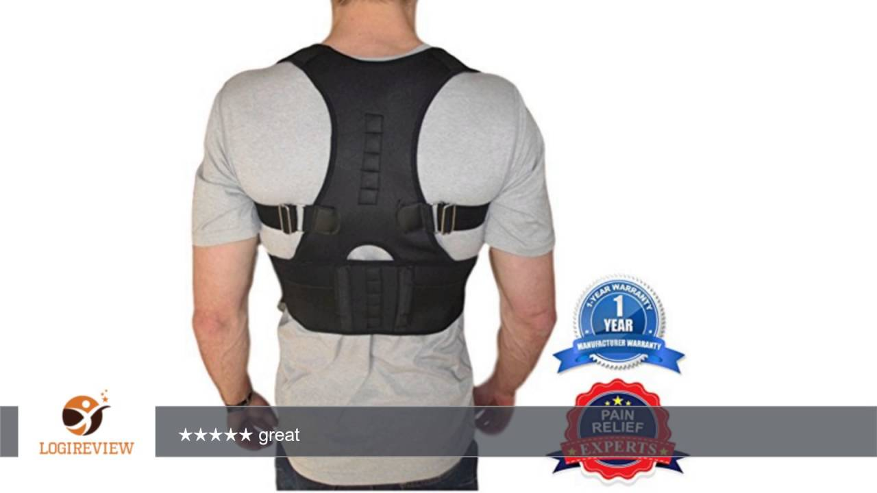 e716f179419ea Thoracic Back Brace Support for Back Neck Shoulder Upper Back Pain Relief