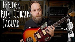 Amazing! Fender Kurt Cobain Jaguar!