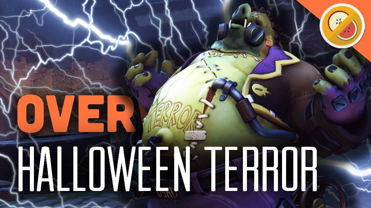 JUNKENSTEIN'S REVENGE! - Overwatch Halloween Terror Update (New ...