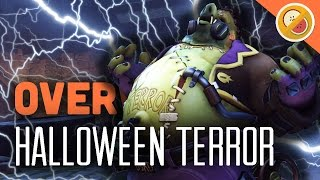 JUNKENSTEIN'S REVENGE! - Overwatch Halloween Terror Update (New Skins & Brawl Gameplay)