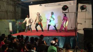 Pankaj Bhai Stage dance at sai baba complex 2016