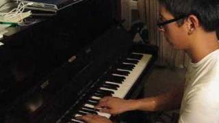 Owl City - Fireflies Piano Cover (Main parts)