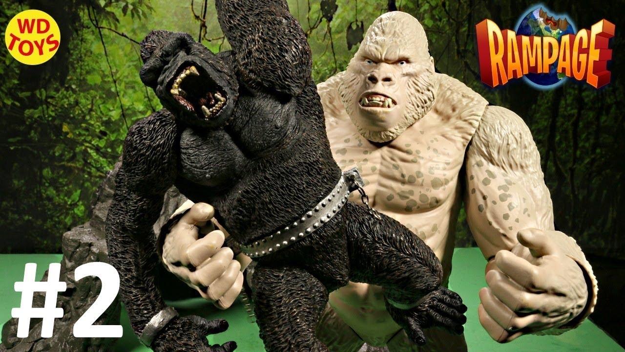 Rampage The Movie Toys Subject George Big City Brawl King Kong Vs