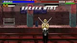 Mortal Kombat Trilogy: Baraka Very Hard Champion Ladder part 1/2