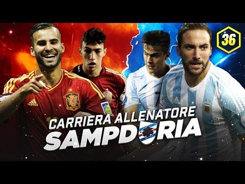 LA SAMP HABLA ESPAÑOL! ALLA CONQUISTA DELL'EUROPA! ~ CARRIERA ALLENATORE SAMPDORIA #36 [FIFA 16 ITA] - 동영상
