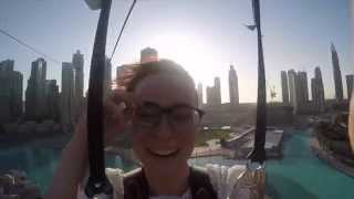 Dubai Eye takes a leap of faith and goes ZIP-LINING!