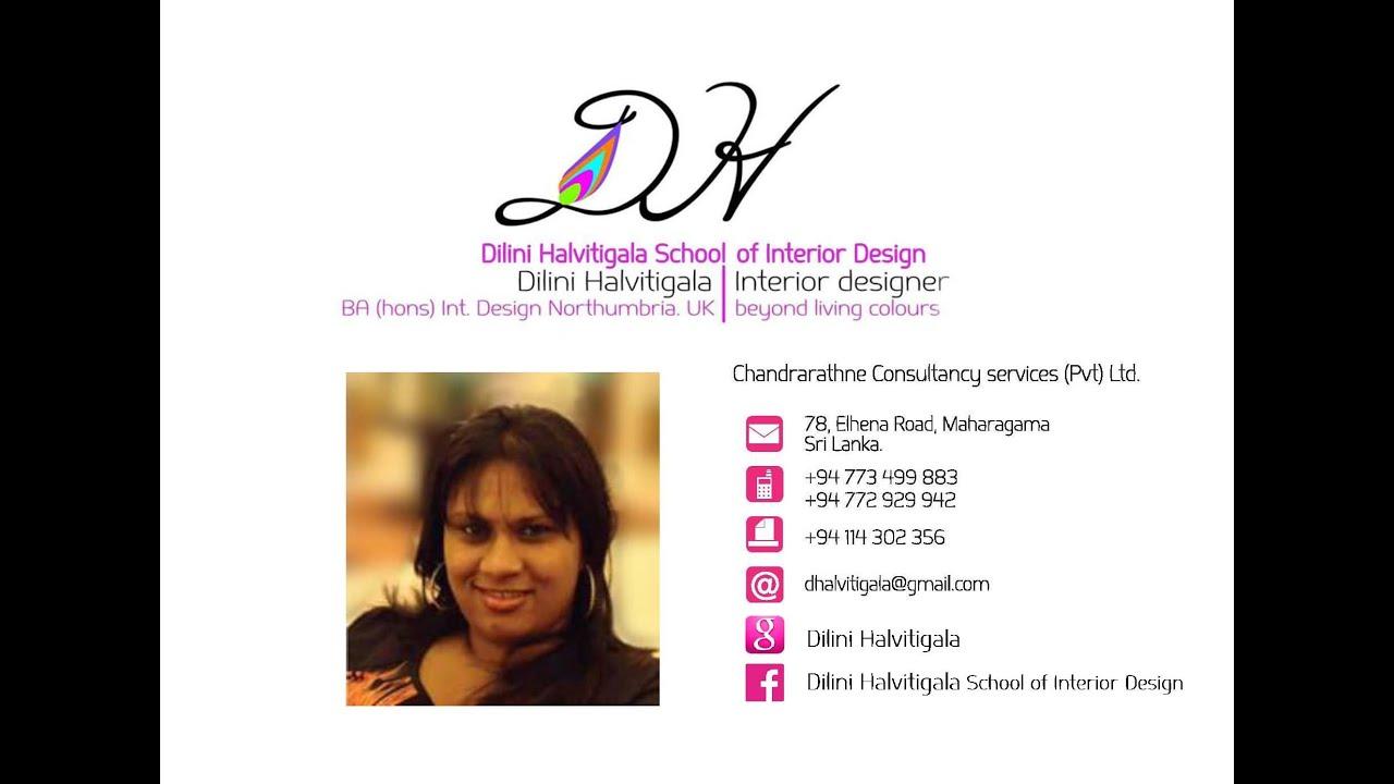 Dilini Halvitigala School Of Interior Design Founderu0027s Career Journey