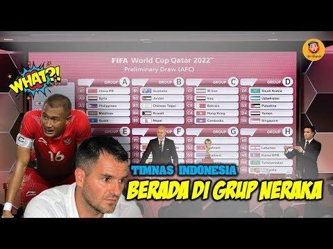 TIMNAS INDONESIA BERADA DI GRUP NERAKA,BEGINI KOMENTAR PELATIH