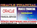 Oracle Financial||online training||Cash Management Part-1 by SaiRam