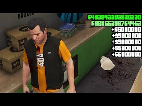 GTA 5 MONEY GLITCH STORY MODE OFFLINE (VERY EASY) GTA 5 MONEY