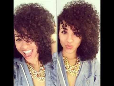 beauitiful mixed girls with curly