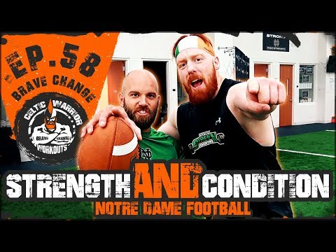 Notre Dame Strength & Conditioning | Ep.58 College Football Workout