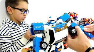 ТОБОТЫ Машинки-Трансформери Челлендж 2019 новий сезон - Трансформуємо Тоботы Іграшки для дітей