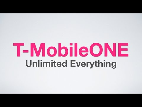 T-MobileONE Explained!