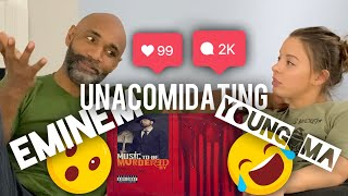 Eminem- unaccommodating (feat. Young MA)(reaction)(review)
