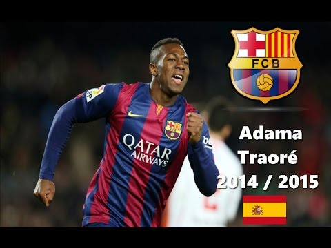 ADAMA TRAORE | Talent From Masia | Barcelona B | 2015