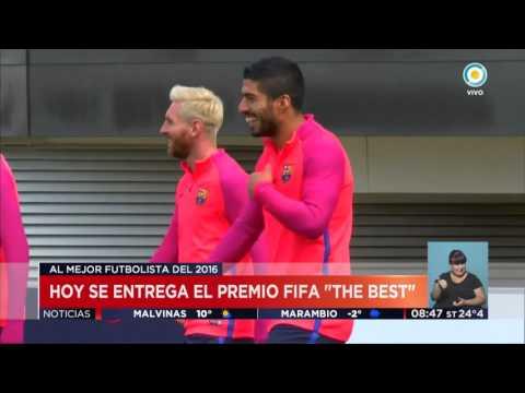 """TV Pública Noticias - Hoy se entrega el premio FIFA """"The Best"""""""