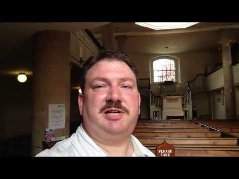 """Greeting's from John Wesley's """"New Room"""" in Bristol, UK"""