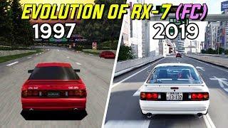 Evolution of RX-7 (FC) in Gran Turismo