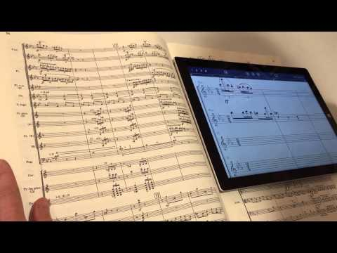 Writing music with StaffPad
