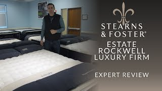 Stearns & Foster Estate Rockwell Luxury Firm Mattress Expert Review